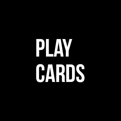 I love play card games
